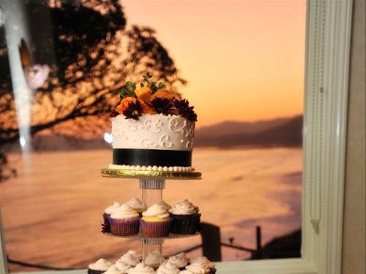 Tmx 1269789180627 Plumandapricotcupcakes Paso Robles wedding cake