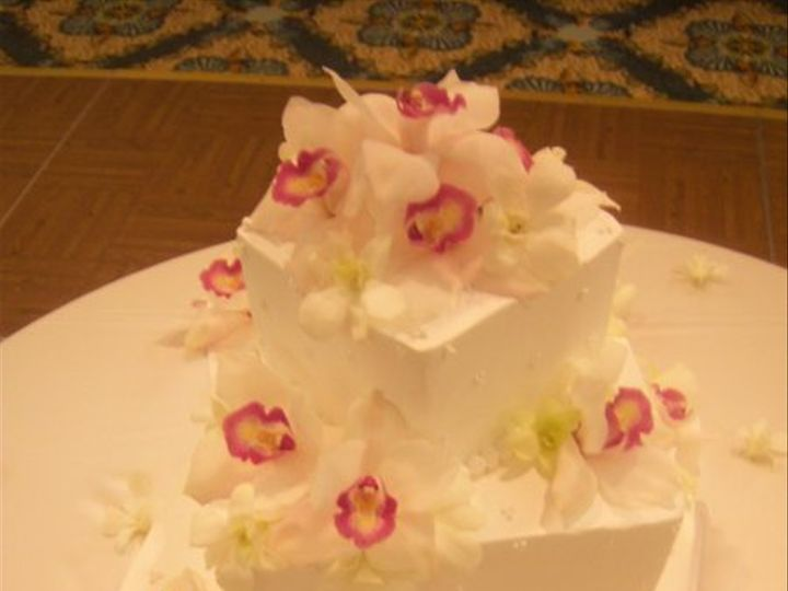 Tmx 1269789401409 Whiteorchids Paso Robles wedding cake