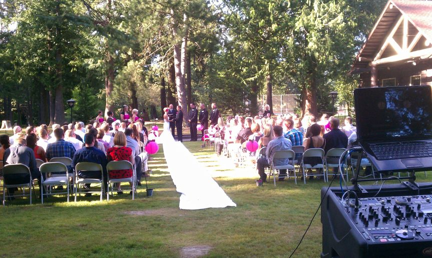 Camano Island Wedding DJ