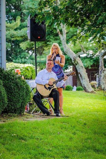 Wedding outdoor ceremony music