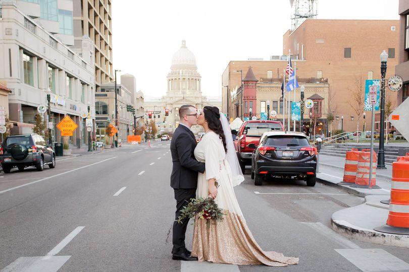 Downtown Boise wedding