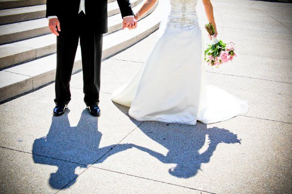 Lauren + Brian!  I love the shadows.