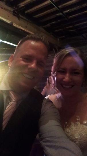 Kelly with a Happy Bride
