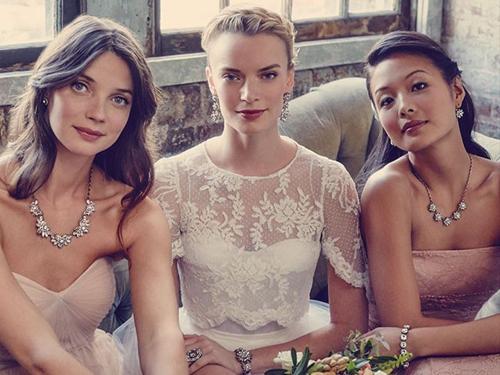 Tmx 1437771983147 Bridal Collection  Bride And Bridesmaids Summer15 Concord wedding jewelry