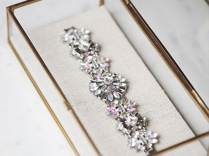 Tmx 1437771990391 Bridal Collection  Crystal Bracelet With Hues Of P Concord wedding jewelry