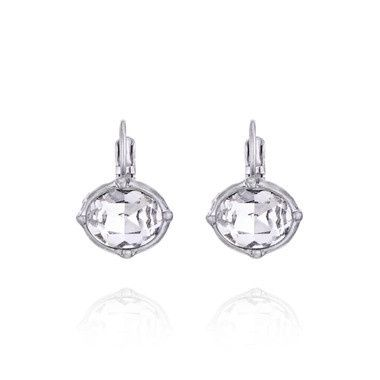 Tmx 1437772158910 Brilliant Crystal Drop Earrings Concord wedding jewelry