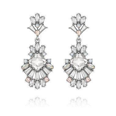 Tmx 1437772176947 Celestial Frost Post Drop Earrings Concord wedding jewelry