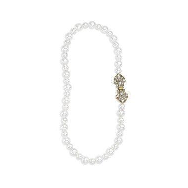 Tmx 1437772204002 Heirloom Pearl Deco Necklace Concord wedding jewelry