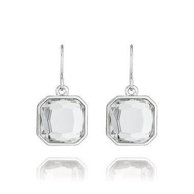 Tmx 1437772231858 Retro Glam Square Cut Clear Crystal Earrings Silve Concord wedding jewelry