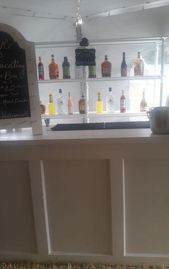Top-shelf liquor