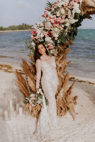 Stunning Bride in Tulum