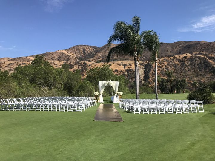 New ceremony arch