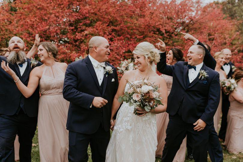 Veteran's Terrace wedding
