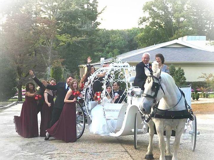 Tmx Cinderella Carriage With Bridal Party 51 301367 Jackson, NJ wedding transportation
