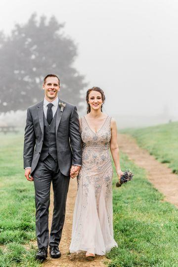 Mason's Island, just married