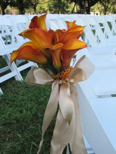Aisle wedding design