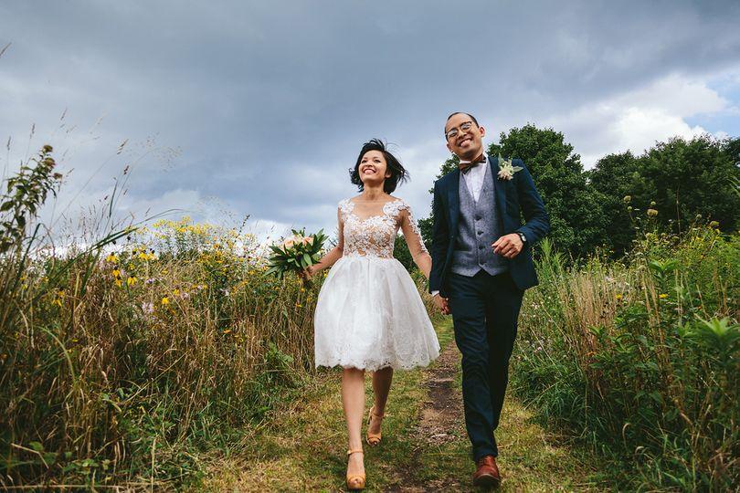 Whimsical chicago wedding