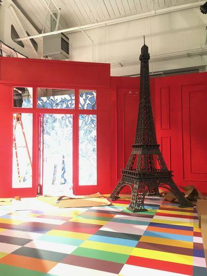 Our custom 12' Eiffel Tower