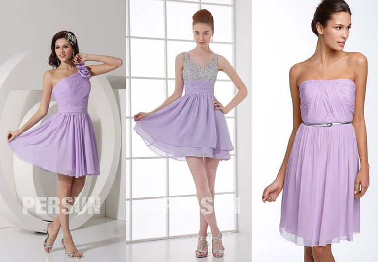 Purple short bridesmaid dresses on http://www.dressesmallau.com