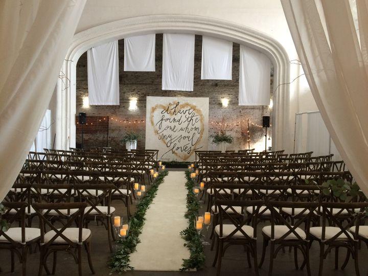 Theatre rialto wedding