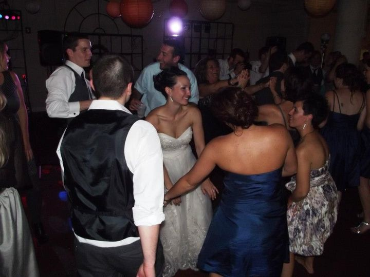 The dance floor