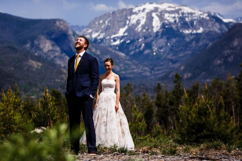 A beautiful Colorado wedding in Grand Lake, CO - Winding River Ranch is nestled along side the...
