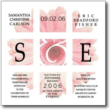 Tmx 1207021990856 GERBERA1 Holland wedding invitation