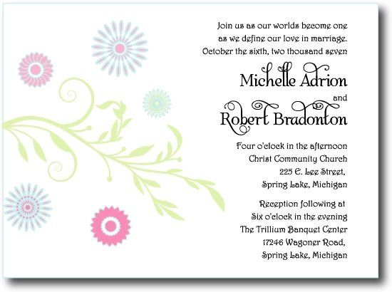 Tmx 1207024756247 Flowers 550 Holland wedding invitation