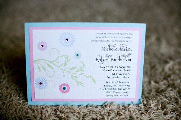 Tmx 1262277784658 Flowers Holland wedding invitation