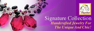 Signature Designs by LaNorma Handcrafted Jewelry collection.