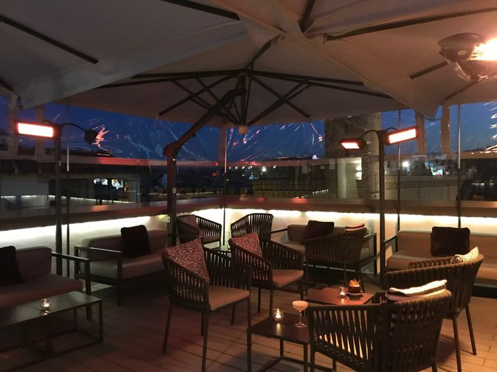 Divina Terrazza in the winter