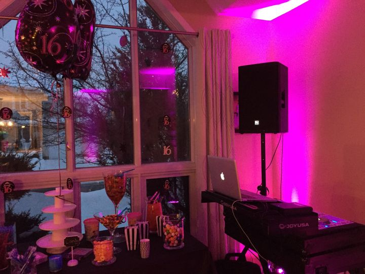 Sweet 16 house party