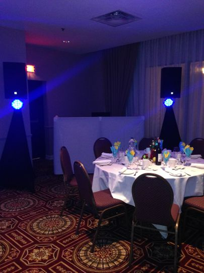 """Another small Christmas party for 50 guests and with a 80""""s n 90""""s playlist"""