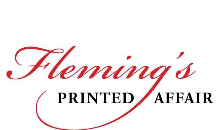 Fleming's Printed Affair