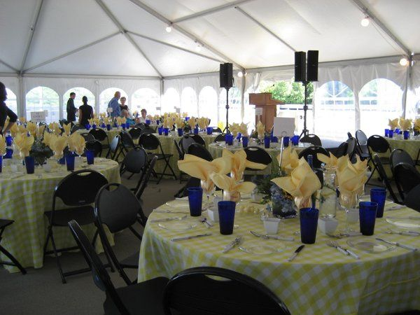 Tmx 1239204858322 YellowBlueTableSettings West Hartford, CT wedding catering
