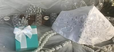 $25 Bridal Satin Mask
