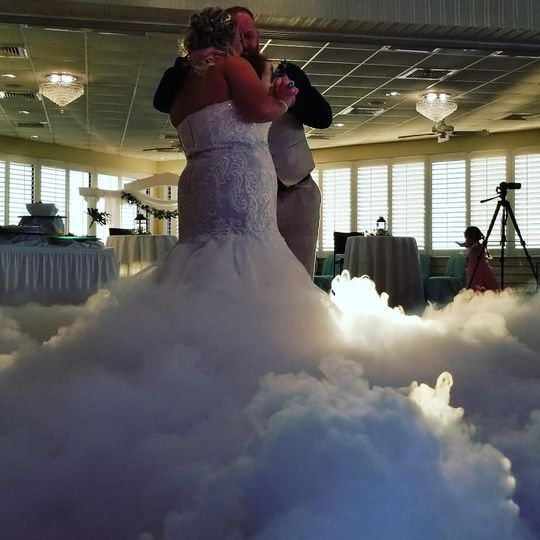 Amazing dancing on the cloud