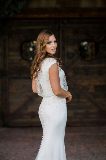 100's of unique modest gowns