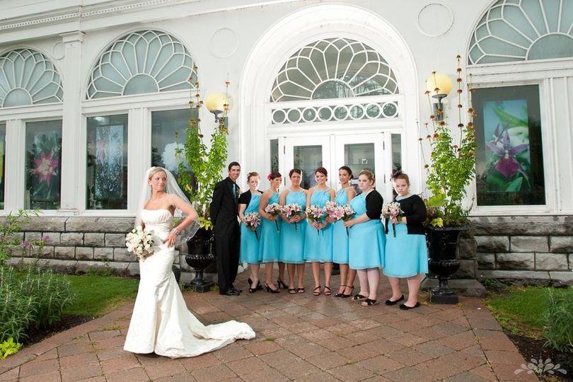 The Botanical Gardens Venue Buffalo Ny Weddingwire