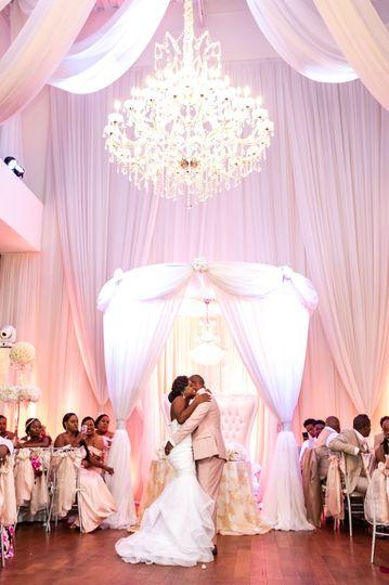 Idyllic destination wedding