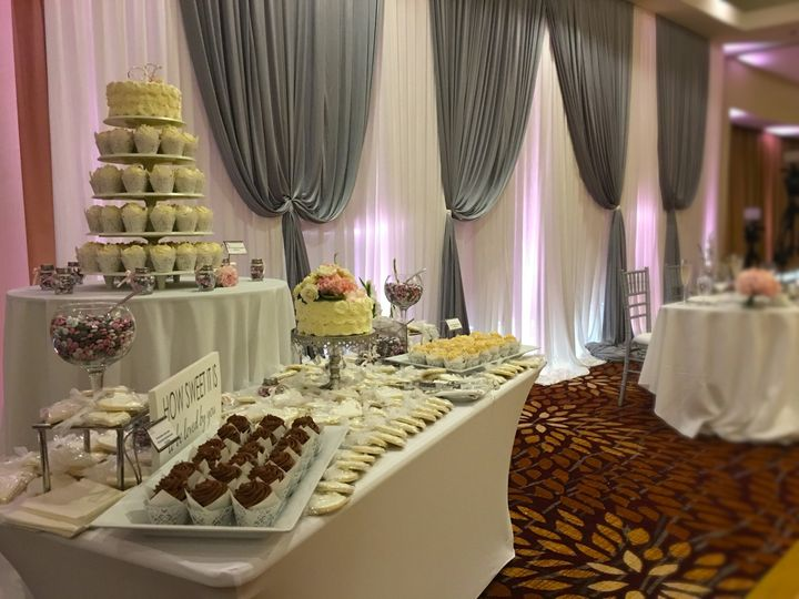 Tmx 1484776452610 Backdrop With Sweets Naperville, IL wedding venue