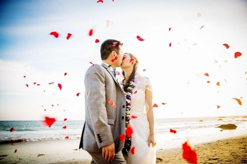 77a0c1d134634a5d California Beach Wedding