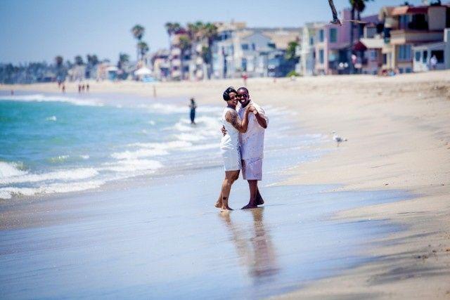 long beach wedding ceremony