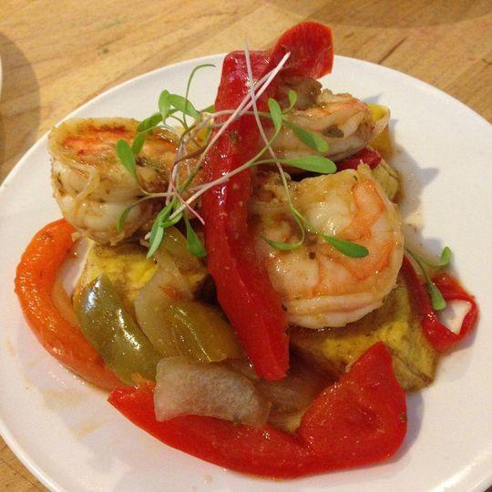 Latin-style Shrimp