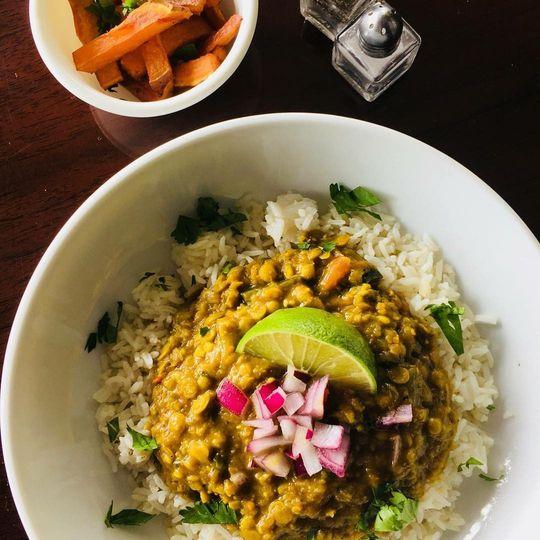 Spicy dhansak