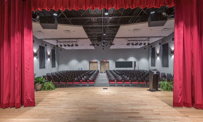 Theater style setting in Auditorium.