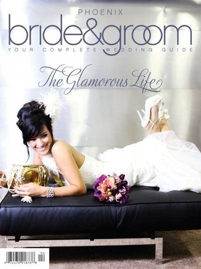 Cover of Phoenix Bride and Groom Magazine