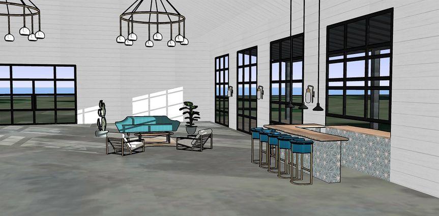 Indoor Venue-white shiplap