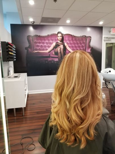 Balayage & blowout