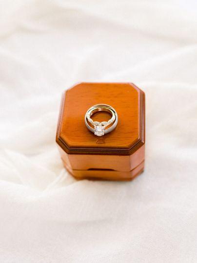 Wedding ring details